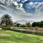 Blick vom Hatta Fort Hotel