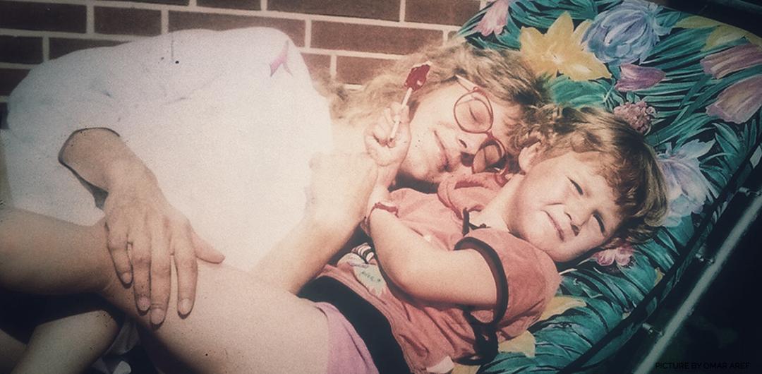 Fiona und ihre Mutter