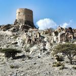 Wachturm in den Bergen von Hatta