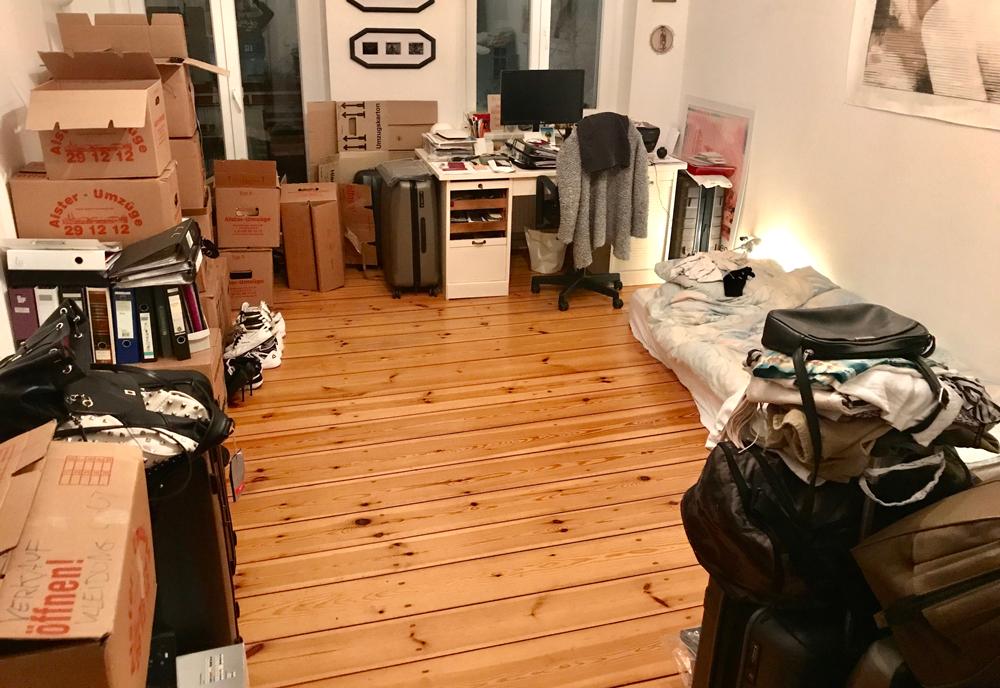 Aufgeräumtes Zimmer